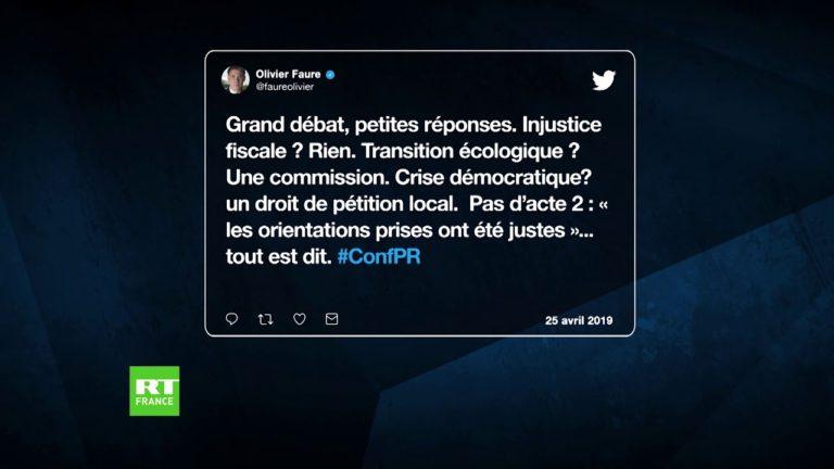 Tour d'horizon des réactions des politiques français aux annonces de Macron [Vidéo]