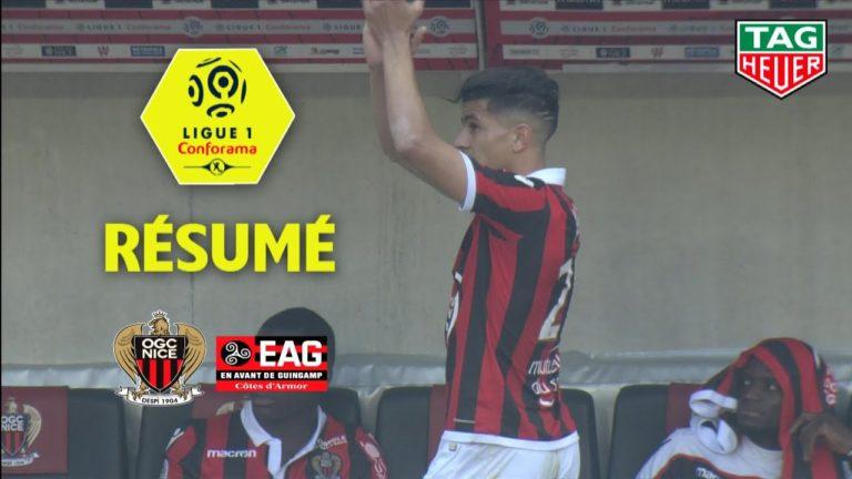 Football. OGN Nice – Guingamp (3-0) : « Noir c'est noir, il n y a plus d'espoir » … [Vidéo]