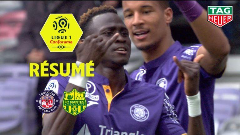 Ligue 1. Toulouse-Nantes (1-0). Le résumé en vidéo