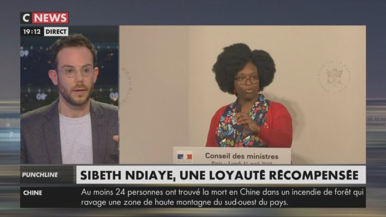 Clément Viktorovitch habille Sibeth Ndiaye pour l'hiver [Vidéo]