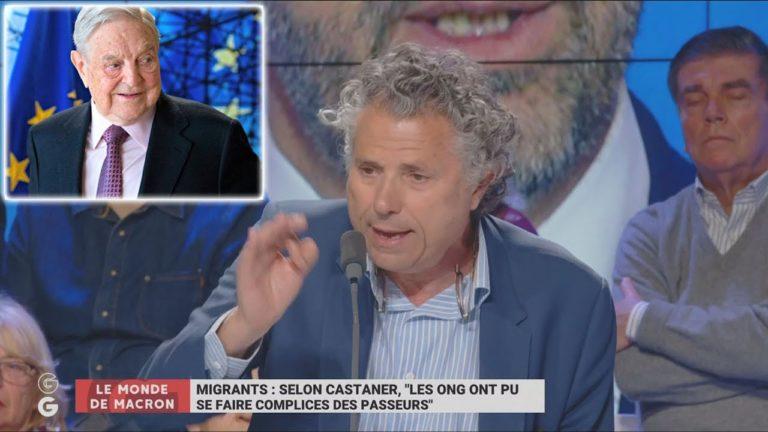 Gilles-William Goldnadel : « SOS Méditerranée est indirectement subventionnée par George Soros » [Vidéo]