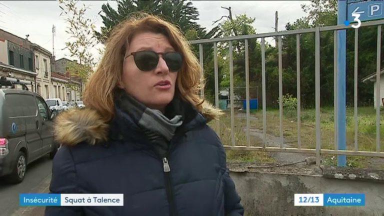 Gironde : les riverains d'un squat de migrants de Talence se plaignent de l'insécurité – France 3 cache les origines des squatteurs [Vidéo]