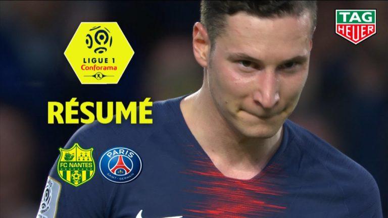 Le FC Nantes déroule face au PSG (3-2) [Vidéo]
