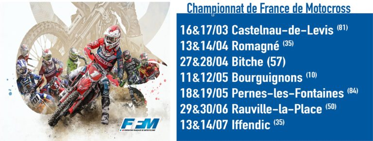 Motocross. Romagné, premier rendez-vous breton du 24MX Tour en 2019