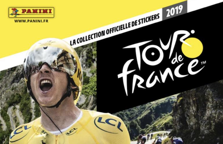 Tour de France 2019. Un album Panini pour petits et grands