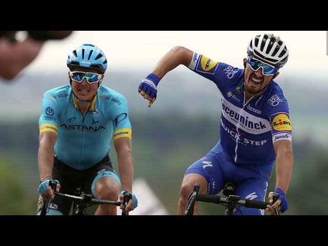 Cyclisme. Julian Alaphilippe remporte de nouveau la Flèche Wallonne [Vidéo]
