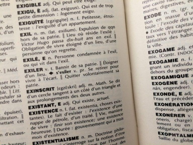 Chronique de la langue française au pays des médias