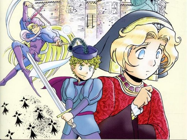 Anne de Bretagne en bande dessinée