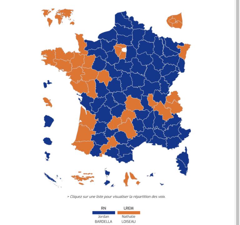 Élections européennes. Les 25 communes de Bretagne qui votent le plus Rassemblement national/LREM/EELV