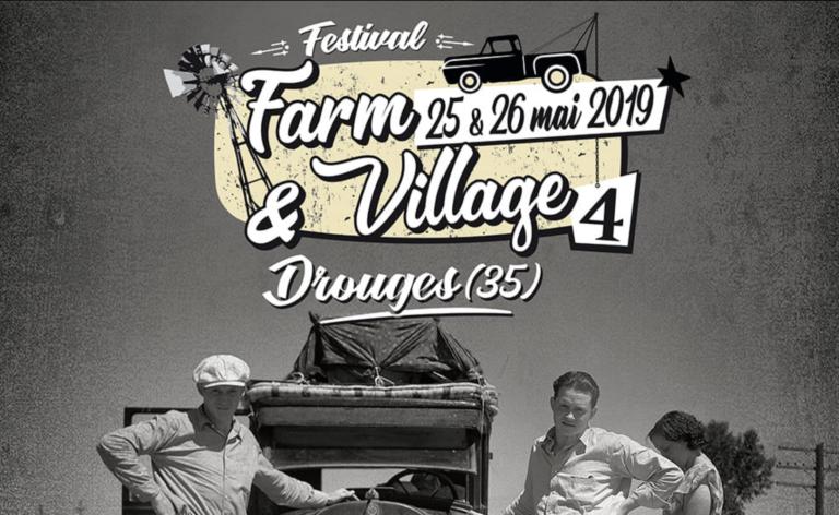 Drouges (35). Le Farm & Village Blues Festival se déroule du 27 au 28 mai
