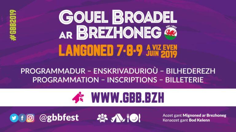 Gouel Broadel ar Brezhoneg. Trois jours de fête pour la langue bretonne début juin à Langonnet