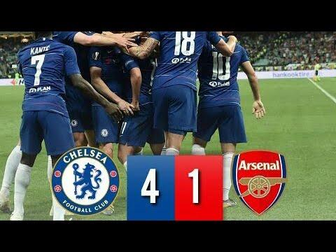 Football. Chelsea explose Arsenal et remporte la Ligue Europe [Vidéo]