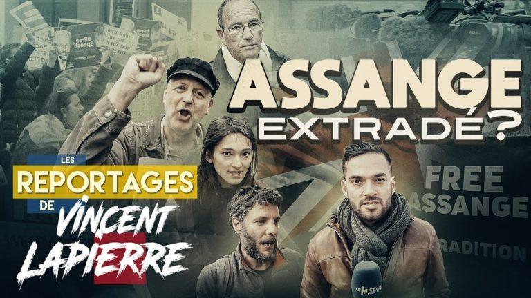 Assange extradé ? Vincent Lapierre enquête à Londres