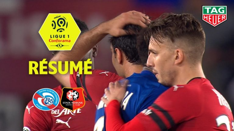 Football. Le Stade rennais s'impose à Strasbourg (0-2) [Vidéo]