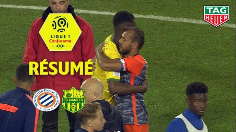 Football. Montpellier Hérault SC – FC Nantes ( 1-1 ) [Vidéo]