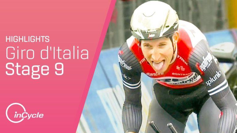 Cyclisme. Primoz Roglic remporte la 9ème étape et assomme le Giro 2019