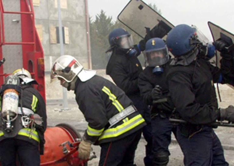 Rennes. Les pompiers et policiers attaqués au mortier par des racailles…