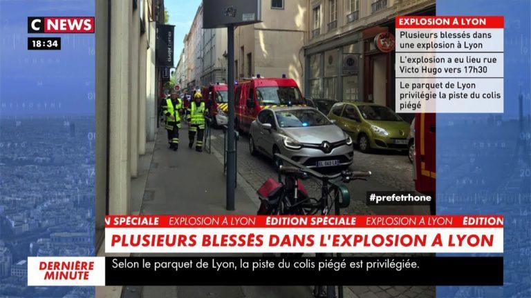 Lyon. Un colis piégé explose, une dizaine de blessés