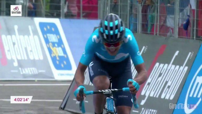 Giro 2019. Carapaz remporte l'étape et prend le maillot rose [Vidéo]