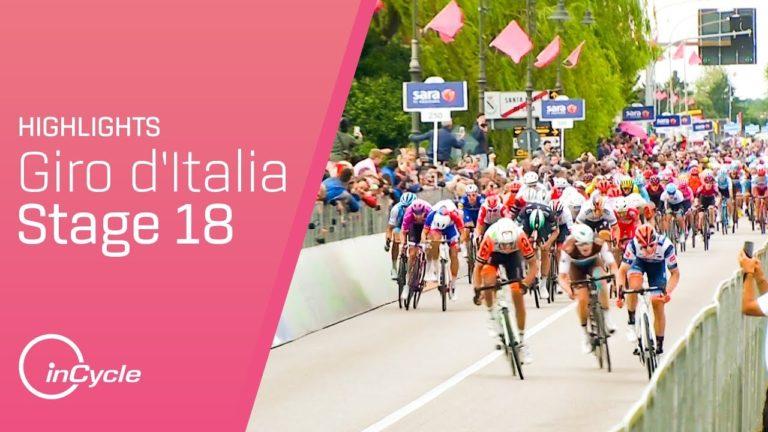 Cyclisme. Damiano Cima remporte la 18ème étape du Giro avec brio [Vidéo]