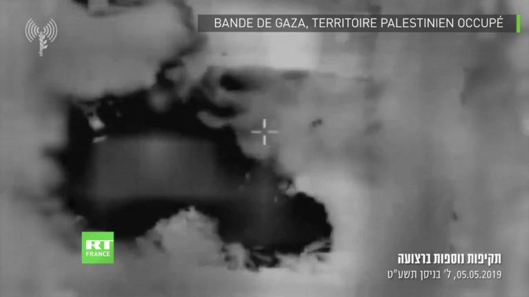 Gaza : Tsahal publie des images des frappes aériennes contre des cibles du Hamas [Vidéo]