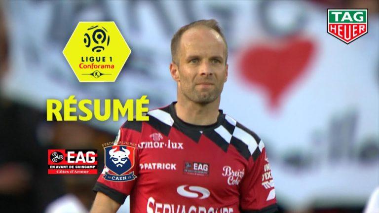 Football, ligue 1. EA Guingamp incapable de battre Caen [Vidéo]