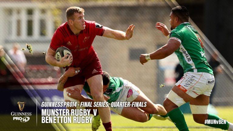 Pro 14 rugby. Le Munster et l'Ulster rejoignent le Leinster et Glasgow [Vidéo]