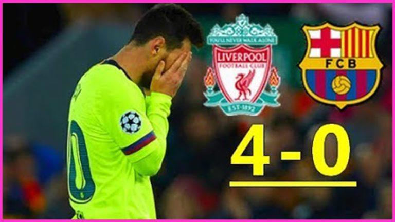 Liverpool écrase le FC Barcelone (4-0) et écrit l'histoire de la Ligue des Champions [Vidéo]
