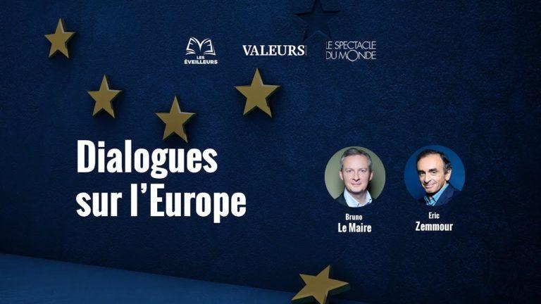 Europe, immigration. Eric Zemmour et Bruno Le Maire débattent [Vidéo]