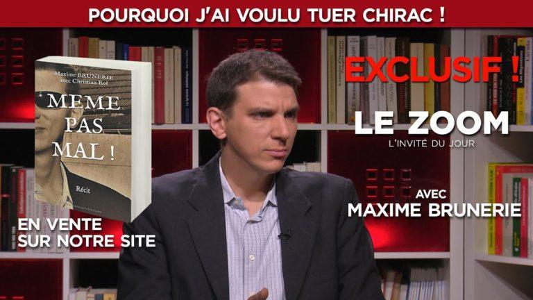 Maxime Brunerie raconte pourquoi il a voulu assassiner Jacques Chirac [Vidéo]