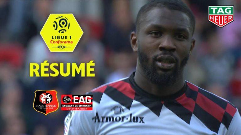 Face au Stade Rennais, Marcus Thuram envoie définitivement Guingamp en Ligue 2 [Vidéo]