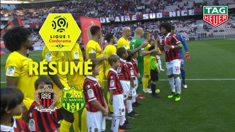 Le FC Nantes ramène un bon point de Nice (1-1)