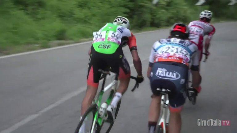Tour d'Italie 2019. Dumoulin perd 4 minutes, Carapaz remporte la 4ème étape [Vidéo]