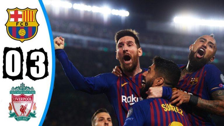 Football. Le FC Barcelone déroule face à Liverpool (3-0) [Vidéo]