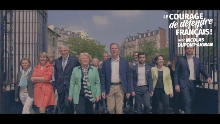 Elections européennes. Le clip de campagne de Nicolas Dupont-Aignan [Vidéo]