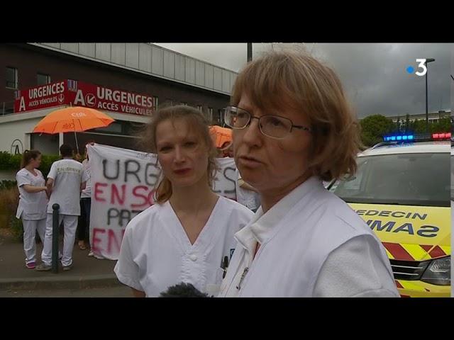 Urgences à Rennes : le personnel mobilisé pour protester contre ses conditions de travail [Vidéo]