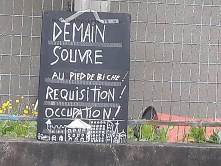 Nantes. Le squat du gymnase de l'évêché compte maintenant près de 400 migrants