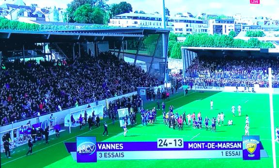 Rugby. Historique ! Le RC Vannes bat Mont de Marsan et s'invite en playoffs de Pro D2 [Vidéo]