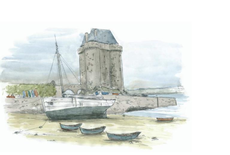 Exposition de Gab à Paris : « De Dinan à Dinard et Saint-Malo par la Rance »