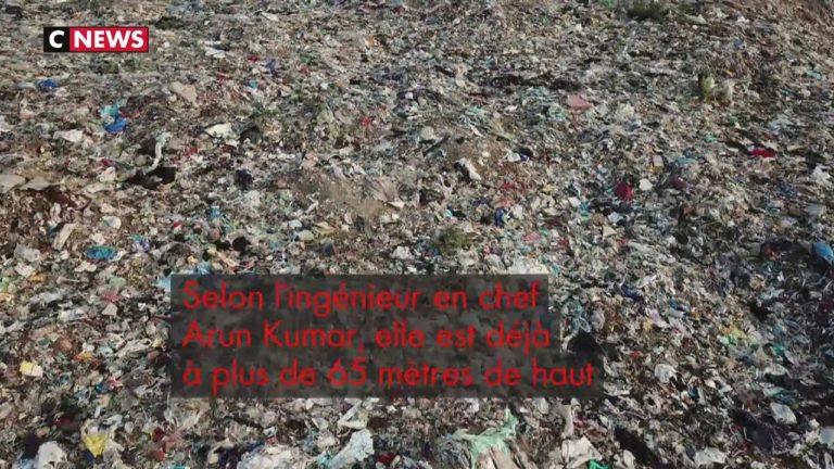 Pollution dans le monde. La montagne d'ordures de New Delhi sera bientôt plus haute que le Taj Mahal [Vidéo]