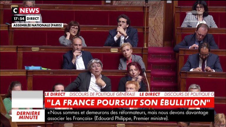 Jean-Luc Mélenchon : «Vous combattre, c'est faire notre devoir» [Vidéo + discours d'Edouard Philippe]