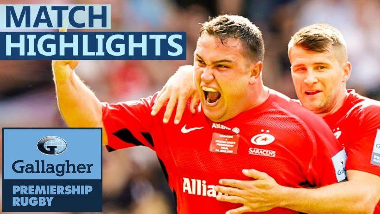 Rugby. Les Saracens remportent la finale de l'Aviva Premiership face à Exeter