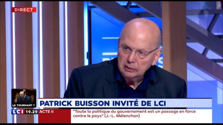 Patrick Buisson : « Il faut réunir tous les populistes » [Vidéo]