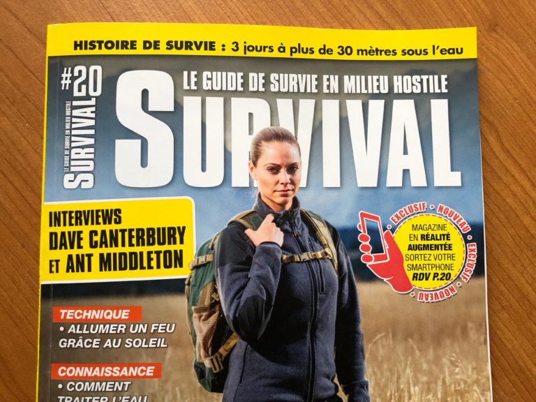 La survie au féminin au sommaire du nouveau numéro de Survival