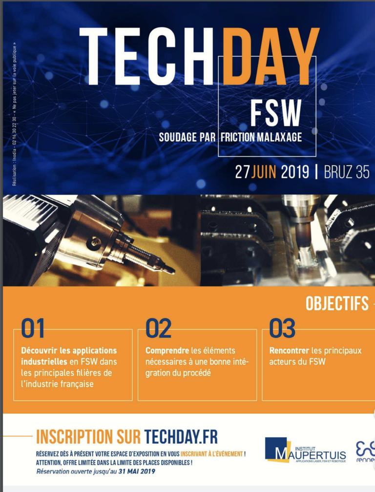 Rennes. Le FSW TECHDAY, un rendez-vous incontournable pour les acteurs industriels