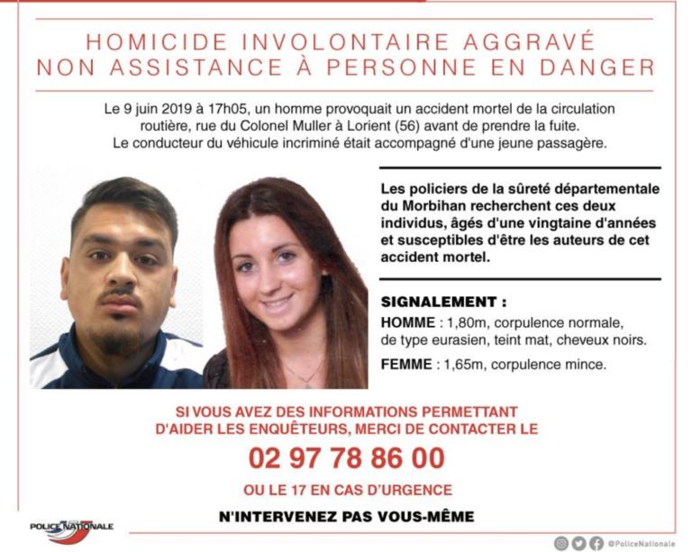 Enfants renversés à Lorient. Appel à témoins pour retrouver le conducteur en fuite : le chauffeur arrêté [MAJ]