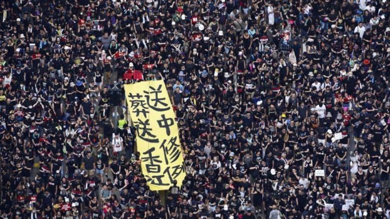 La mafia chinoise intervient dans le conflit politique à Hong Kong