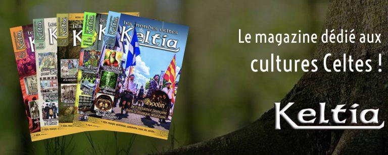Keltia magazine sort un numéro consacré aux festivals celtiques de l'été