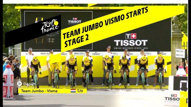 Tour de France 2019. Jumbo-Visma à la fête
