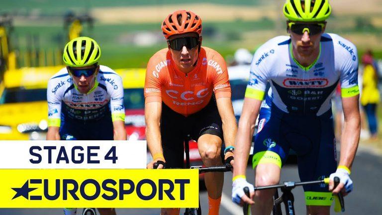 Viviani remporte au sprint la 4ème étape du Tour de France 2019 [Vidéo]